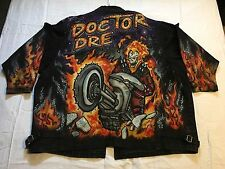 VINTAGE DR.DRE / AIR BRUSHED GOST RIDER / DENIM JACKET