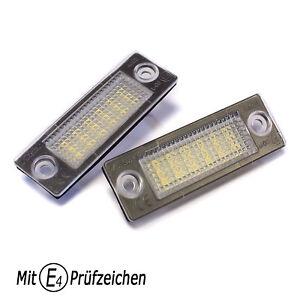 LED Kennzeichenbeleuchtung für VW T5 Transporter Caravelle Multivan 2003-2015