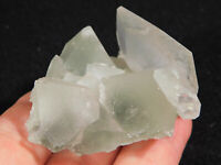 FLUORITE Crystals With Calcite Crystals Xianghualing Mine China 107gr