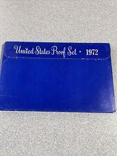 1972 Proof Set Original Box