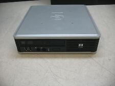 HP Compaq dc7800 USFF Intel C2D @ 2.53GHz 4GB RAM 160GB HD. Windows 7 Pro 64 Bit