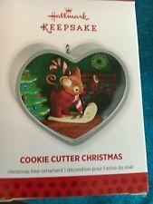 "2013 "" COOKIE CUTTER CHRISTMAS    ""Hallmark Ornament  ( NIB ) 2ND IN SERIES"