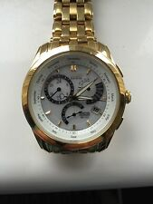 Citizen Eco-Drive Gold Plated Strap Wristwatches