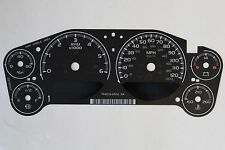 07-10 FACTORY OEM GM STOCK SPEEDOMETER INSTRUMENT CLUSTER GAUGE FACE INLAY ONLY