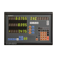 3-AXIS DRO DISPLAY CONSOLE FOR GLASS SCALE ENCODERS (3129-0253)