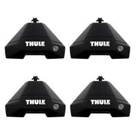 THULE 7105 EVO CLAMP Roof Bar Feet SET - Cars with in Door Fitting FOOTPACK ONLY