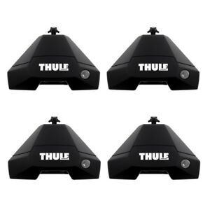 Thule 7105 Evo Clamp Roof Bar Feet x4 Cars with in Door Fitting Foot pack ONLY