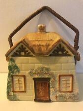 Vintage Keele St Pottery Cottage Ware Biscuit Barrel