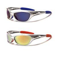 X-Loop Men Wrap Around Sports Cycling Ski Baseball Designer Sunglasses Revo Lens