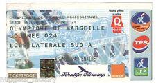 Billet  / Place  OM Olympique de Marseille - OM  ( 013 )
