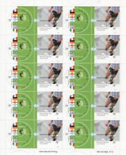 2002 Campioni di calcio - Argentina - minifoglio