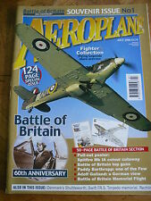 AEROPLANE MAG SOUVENIR ISSUE #334 FEB 01 LANCASTER WW2 NOSE ART SOPWITH DOLPHIN