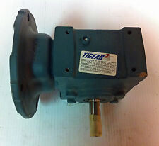 DODGE 15Q15R56 TIGEAR-2 RIGHT ANGLE WORM GEAR REDUCER .87 HP RATIO 15:1