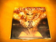Cardsleeve Full CD INTERNECINE The Book Of Lambs PROMO 8TR 2001 death metal
