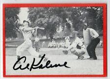 Detroit Tigers Hall of Fame AL KALINE Sandlot Days signed autographed card tough