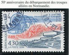 TIMBRE FRANCE OBLITERE N° 2887 LE DEBARQUEMENT / Photo non contractuelle