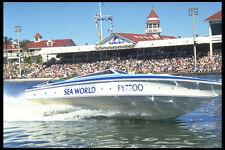 606085 Sea World Ski Boat Australia A4 Photo Print