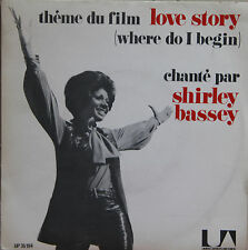 "Vinyle 45T Shirley Bassey  ""Love story"""