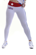 AG C0141 LEGGINGS DONNA M CUBA BIANCO FRANCIS MADE IN ITALY COTONE