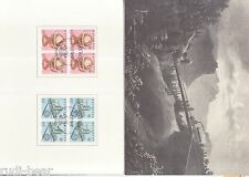 Schweiz Nr.  1249-50  gest.  Jahresgabe der Schweizer Post Europa Viererblock