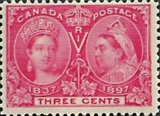Canada     # 53   DIAMOND JUBILEE ISSUE    Brand New 1897 Pristine Original Gum
