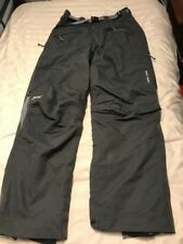 IMPERFECT Mens Helly Hansen Olive Green Insulated Ski Pants Large SC8