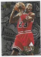 1996-97 Fleer Metal Michael Jordan Nuts And Bolts Foil Card No. 212