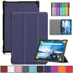 """PU Leather Smart Case Cover For Lenovo Tab 4 10/5 Plus 10.1"""" P10 E10 M10 Tablet"""
