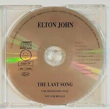 ELTON JOHN : THE LAST SONG ♦ GOLD CD-PROMO ♦