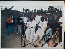 Puff Daddy, P Diddy, BAD BOY, R Kelly video shoot pic, hip-hop history