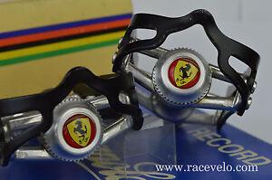 Staubkappen dust caps Colnago Ferrari Gipiemme Campagnolo record pedalen pedals