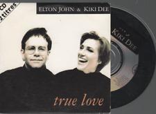 Elton John True Love Cd Single card sleeve france french pressing