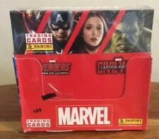 Panini Marvel Trading Cards . Box of 36 (sealed) New