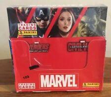 Panini Marvel Trading Cards . Box of 36 (sealed) New
