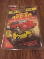 1996 TYCO 440-X2 DODGE STEALTH COUPE Slot Car YEL 9141