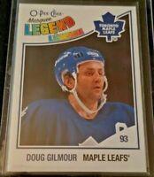2010-11 Doug Gilmour O-Pee-Chee Marquee Legend #555 Toronto Maple Leafs