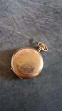 VINTAGE 0 SIZE ELGIN POCKETWATCH GRADE 269 KEEPING TIME