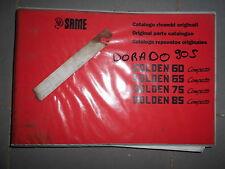 Same GOLDEN 60 65 75 85 Compatto 1998 : catalogue de pièces