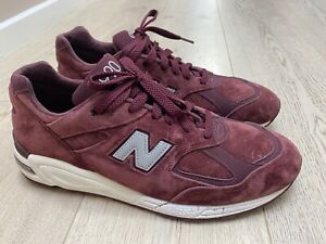 new balance 990v2 Made In USA Bringback Suede Size US 12 Mens Burgundy M990CIT2