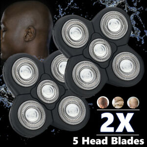 2X 5 Head Beard Cutter Replacement Blade FOR Electric Razor Shaver Head