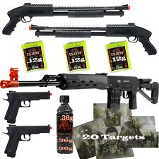*5 Guns* ALL METAL SVD Airsoft Sniper Rifle 6mm & Shotguns & Pistols &am