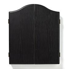WINMAU DARTBOARD CABINET BLACK ASH VENEER