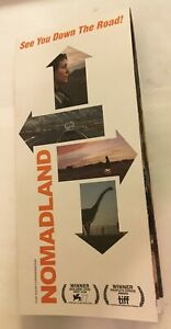 NOMADLAND Promo Map Roadmap Folds Out Frances McDormand 2020