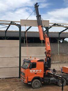 Concrete Panels (Prestressed) Silage grain Stock Walling