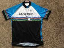 "Louis Garneau/Go Active ""BACKROADS"" Cycling Jersey, Size XL, 1/2 Zip"