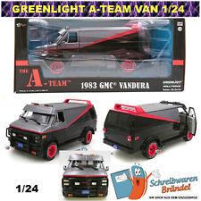 Greenlight Hollywood A-Team Van GMC Modellauto Vandura 1:24 Chevy B.A. Face Smit