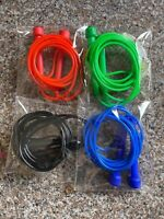 Adjustable Fitness Jump Ropes (Set Of 4) Great For Home Cardio Workouts