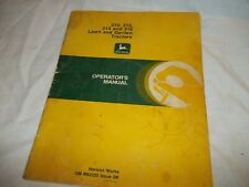 Vintage John Deere Operators Manual for assorted tractors free shipping in Us