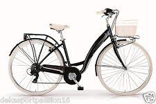 Bicicletta MBM Primavera 236 26'' Trekking Donna alluminio 6v Verde - Mint