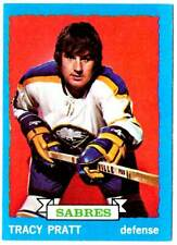 1973-74 Topps TRACY PRATT (ex) Buffalo Sabres
